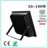 Lumière d'inondation économiseuse d'énergie de 50W DEL pour extérieur avec du ce (IP65)