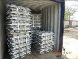 중국 공장에서 직접 저가를 가진 알루미늄 주괴 99.7%