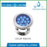 IP68 고성능 18watt LED 수중 빛