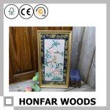 Het rustieke Natuurlijke Houten Frame van de Foto van het Beeld voor de Decoratie van het Restaurant