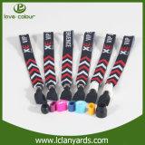 Bracelets de flexibilité d'impression figure par coutume de modèle de logo