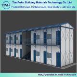 Niedrige Kosten-mobiles vorfabriziertes Haus-Steigung-Dach-bewegliches Fertighaus