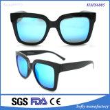 Óculos de sol da promoção da forma do desenhador de Soflying Xiamen com frame preto
