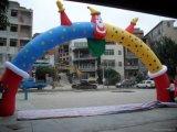 Bienvenido doble Arco inflable Publicidad