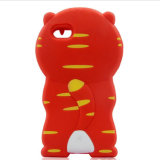 Cute Cartoon 3D Silicone Case Cover Cover para iPhone