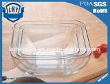 창조적인 정연한 유리제 다중목적 사발 사라다 그릇