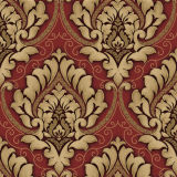 Precio material decorativo del papel de empapelar de la flor de la pared