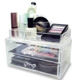 Caixas de indicador cosméticas do armazenamento da caixa acrílica elevada da jóia de Quanlity