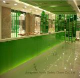 Vetro laminato verde di PVB con lo standard di ASTM