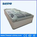 Aht combinou o congelador por atacado comercial do gabinete do congelador do console