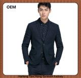 OEMの高品質の韓国様式スーツと結婚している細い適合の人