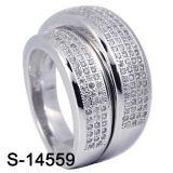 Paar-Ring-Großverkauf der Form-Schmucksache-925 silberner