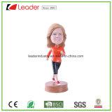 Eco-Friendly подгонянные Polyresin статуи Bobblehead для подарков сувенира и домашнего украшения