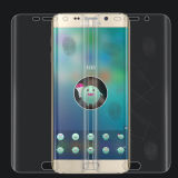 Gebogene voll abgedeckte Antikratzer-ausgeglichene Glasschicht für Samsung S6edge plus