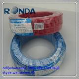 PVC에 의하여 격리되는 전기 건물 철사 0.5 0.75 1 SQMM