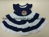 Baby-Baumwollbequemes Kleid 100%