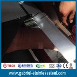 0,8 mm Epaisseur 316L Miroir décoratif en acier inoxydable Liste des prix des feuilles
