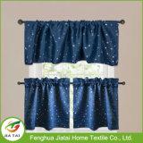 Os melhores testes padrões Washable das cortinas da cozinha do Natal da alta qualidade