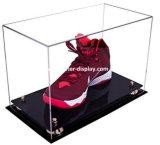 Ясный акриловый витринный шкаф ботинка