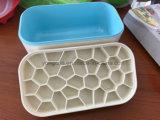 手製のプラスチックまたはプラチナシリコーンの角氷型か角氷の容器の角氷ボックス