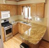 Móveis de cozinha em madeira maciça de vidoeiro Gabinete de cozinha