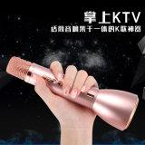 Microphone sans fil de mini karaoke avec le haut-parleur de Bluetooth