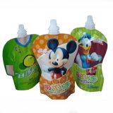 Kundenspezifischer heiss versiegelter Plastikverpackungs-Beutel mit Reißverschluss-Beutel