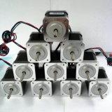 1メートルの導線が付いているNEMA17サイズDシャフトが付いている3Dプリンター段階モーター