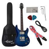 Гитара гитары Prs Aiersi электрическая с случаем гитары трудным