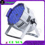 실내 높은 광도 LED 54X3watt RGB 단계 동위는 할 수 있다