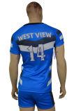 فائقة نوعية بوليستر [روغبي فووتبلّ] قميص تصميم [روغبي] قميص ([ر017])