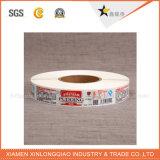 La coutume a estampé l'étiquette auto-adhésive de collant d'impression d'imprimante de papier de code barres de PE