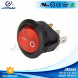Super qualité LED Illuminé Round Rocker Switch on-off 3 broches