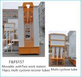 Cabina automática y de la robusteza del polvo del ciclón