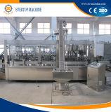 PLC는 유리병 충전물 기계 3in1를 통제한다