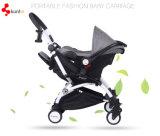 Bequemer Baby-Spaziergänger mit 2 in 1 Sitz u. in Carrycot