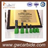 Karbid-Kugel-Wekzeugspritze und Quadrat-Enden-Tausendstel mit 4 Flöten HRC60