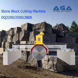 Máquina de corte de bloco de pedras multi-lâminas para granito / cortador de mármore (DQ2200 / 2500/2800)