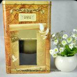 Коробка олова изготовленный на заказ большого прямоугольного подарка печенья упаковывая с прозрачным пластичным окном