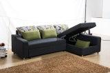 調節可能なArmrest (VV979)が付いている優雅な角のソファーベッド