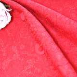 Polyester-Farben-Polyester 100% für Frau Skirt Coatjacquard Fabric