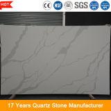 Kundenspezifischer grosser künstlicher ausgeführter Quarz-Stein des Platte-Formular-20mm für KücheCountertop