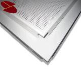 azulejos de aluminio del techo de los materiales del diseño interior de 600*600m m