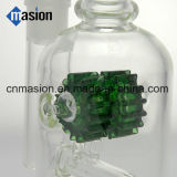 유리제 연기가 나는 세트 유리제 담배 파이프 (AY017)