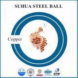 bola redonda de la bola de cobre pura de 2m m pequeña