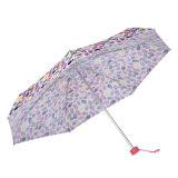 Un mini ombrello eccellente delle 5 volte con stampa variopinta del carattere
