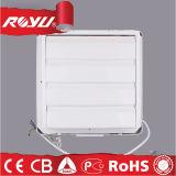 Quadratischer lärmarmer kleiner Keller-Fenster-Plastikabsaugventilator