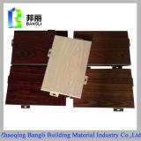 Il grano di legno ha ricoperto lo strato di alluminio anodizzato comitato di alluminio