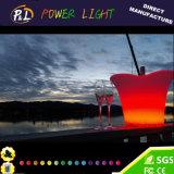 RGB 재충전용 LED 바 가구 LED 얼음 양동이