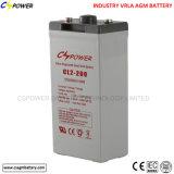batterie exempte d'entretien du cycle 2V1000ah de batterie profonde de gel